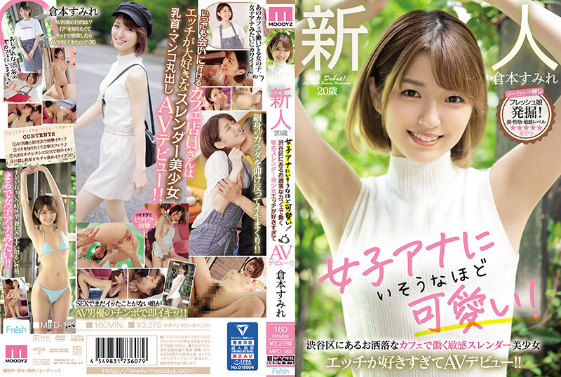 MIFD-183 A Fresh Face 20-Year Old She's Cute Enough To Be A Female Anchor! This Sensual And Slender Beautiful Girl Works At A Stylish Cafe In Shibuya She Loves Sex So Much, She's Making Her Adult Video Debut!! Sumire Kuramoto